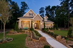 The Orleans Plan in the Estates of Wedgewood Falls in Houston, TX.   #chesmarhomes