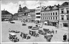 Kolínská náměstí v roce 1940
