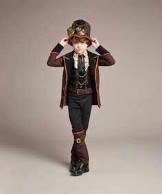 Steampunk Costume For Boys ...