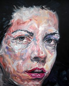 Expressive paintings using broad brushstrokes by Fred Calmets Advanced Higher Art, L'art Du Portrait, Pastel Portraits, Expressive Art, A Level Art, Illustration, Fashion Painting, High Art, Art For Art Sake