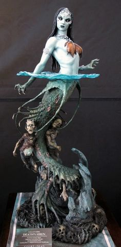 Galavarbe, death's siren from Court of the dead by Sideshow Collectibles