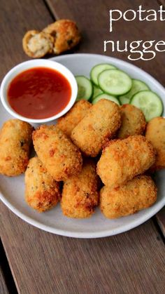 potato nuggets recipe, spicy potato nuggets, potato snacks recipes with step by step photo/video. vegetarian version of the chicken McNuggets by McDonald's. Pakora Recipes, Chaat Recipe, Veg Recipes, Spicy Recipes, Healthy Recipes, Snacks Recipes, Sandwich Recipes, Dishes Recipes, Simple Snack Recipes