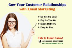 MySMSmantra is India's number one SMS marketing service provider and we provide numerous options to stay in touch with your customers. Number One, Email Marketing, Campaign, How To Plan, Text Posts