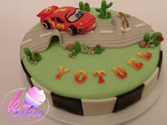 Children Cake, Lightening Mcqueen, Cupcake Cakes, Cupcakes, Disney Cakes, Birthday Cake, Facebook, Cars, Desserts