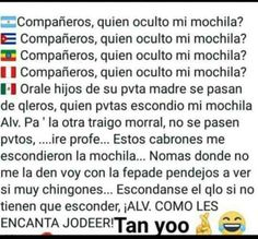 Super ideas for memes mexicanos mexican humor laughing Memes Funny Faces, Funny Jokes, Mean Humor, Mexican Memes, Funny Spanish Memes, Sarcastic Jokes, Tsumtsum, Memes In Real Life, New Memes