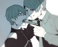 Kaneki & Shuu - Tokyo Ghoul