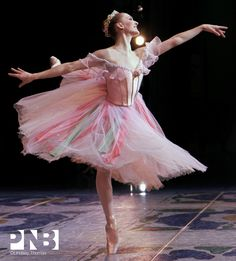 PNB corps de ballet dancer Elizabeth Murphy in Stowell and Sendak's Nutcracker…