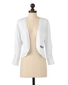 St. Louis Billikens | Shirred Sleeve Bolero | meesh & mia