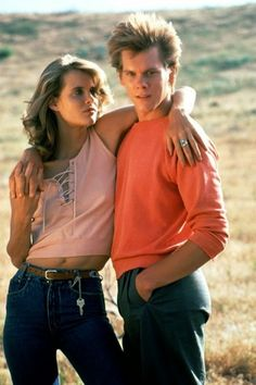 """""""Footloose"""" scene with Lori Singer & Kevin Bacon (1984)"""
