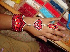 Nakonaeaglethunder - Native American Beadwork for Sale's - Slave Bracelet's