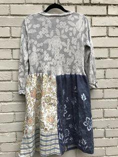 The Mary dress/tunic/jacket. Upcycled eco friendly romantic