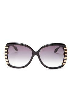 7f435bf700e20 Roberto Cavalli Women s Black Plastic Sunglasses by NYWD on