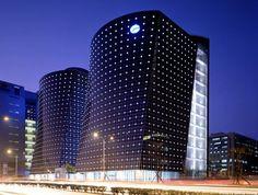 lighting skyscrapers facade - Поиск в Google