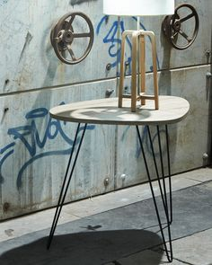 This is a funky little table with lots of personality.