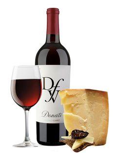 Donati Family Vineyards Claret  Love the cheese pairing suggestion.