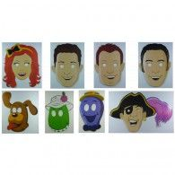 The Wiggles Party Face Masks Pk 8 : Party Supplies Cake Supplies Lets Celebrate Parties Wiggles Party, Wiggles Birthday, The Wiggles, Baby Birthday, Birthday Parties, Birthday Ideas, Party Face Masks, Mask Party, Cake Supplies