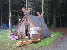 another-daughter-of-vikings:   Karmoy - Viking tent por Lori Thomas