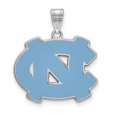 Jewel Tie 925 Sterling Silver University of North Carolina Small Pendant