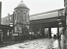 OLD DEPTFORD HISTORY: Deptford Station 1920s