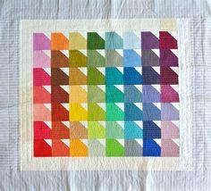 Pantone Baby Quilt — Suzy Quilts