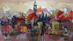 Artwork >> Sergey Yatnov >> 1 Barnett Newman, Alex Colville, Carl Larsson, Audrey Kawasaki, Andrew Wyeth, Akira, Bo Bartlett, Artworks, Painting