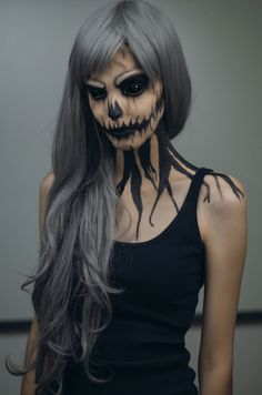 Epic Halloween Makeup Ideas - Pumpkin Queen