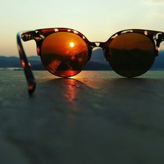 "See 5 photos and 1 tip from 62 visitors to Ligia port. ""grafikotato me oxi kapoia idiaiterh thea. Sunrise, Sunglasses, Sunrises, Shades, Sunrise Photography, Rising Sun, Eyewear"