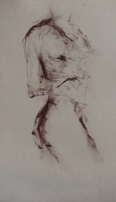 "Saatchi Art Artist Kjersti B Sveberg; Drawing, ""Turn"" #art"