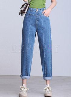Jeans Boyfriend, Mom Jeans, Skinny Jeans, Best Jeans For Women, Trendy Jeans, Formal Pants, Denim Ideas, Perfect Jeans, Casual Chic Style