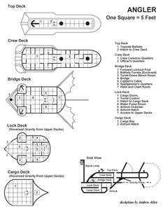 Angler Deckplans