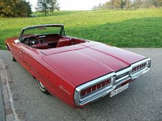 1965 Thunderbird convertible...with a deck lid that goes on forever.