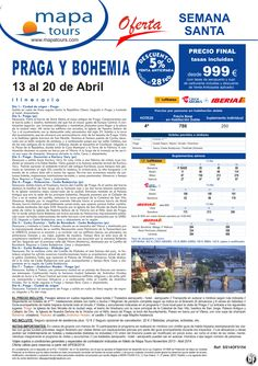 Praga y Bohemia Semana Santa del 13 al 20 Abril **Precio Final desde 999** ultimo minuto - http://zocotours.com/praga-y-bohemia-semana-santa-del-13-al-20-abril-precio-final-desde-999-ultimo-minuto/