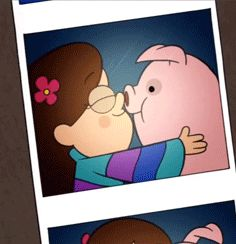 Waddles and Mabel <3