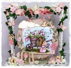 Cards made by Chantal: DT-dag Time for Magnolia Challenge