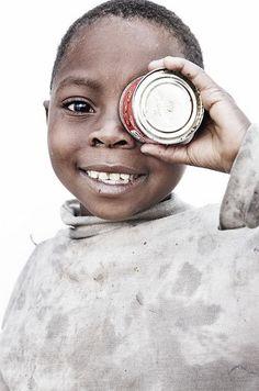 Africa | Jasmine, 'Photographer' (Rankin's portraits).  DR Congo |  © Oxfam International It's always a good time to support Oxfam International to help children like this one.  www.oxfam.org/