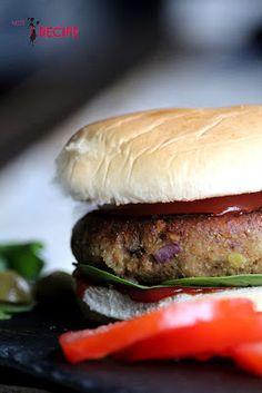 Burger aux lentilles (LE PARFAIT) - Miss-Recipe.com | Traiteur vegan à Québec