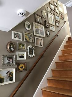 Most popular unusual picture frame wall decorating ideas on a budget 5 Stairway Decorating Budget Decorating Frame Ideas Picture Popular Unusual Wall Gallery Wall Staircase, Staircase Wall Decor, Stairway Decorating, Stair Walls, Stair Decor, Picture Wall Staircase, Gallery Walls, Picture Frames On The Wall Stairs, Pictures On Stairs