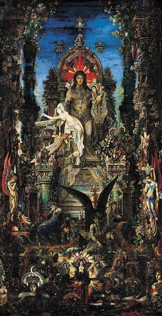 Jupiter and Semele - Gustave Moreau  1896
