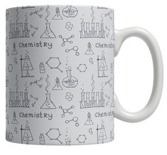 Chemistry novelty science theme mug great gift for teachers