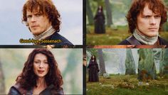 [GIFSET] 1x11 The Devil's Mark - Goodbye, Sassenach