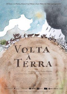 Volta à Terra, de João Pedro Plácido. Cartaz de João Catarino