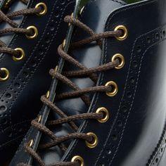 Tricker's commando sole boots.