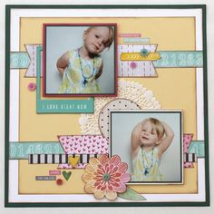 Scrappy Chick Designs: My Creative Scrapbook: April Sketch Challenge~ Amy Tangerine