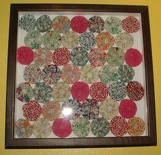 Sunshine's Creations.Vintage Threads Inc.: Grandma Harbaugh's yo-yos
