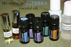 review of doTERRA essential oils