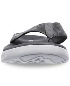 Skechers Men's On The Go 600 - Seaport Athletic Flip-Flop Thong Sandals from Finish Line - Gray 13