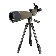 SVBONY SV13 Spotting Scope with Adjustment Tripod 20-6080 Zoom IPX7 Waterproof Spotting Scope 45-Deg Viewing Angle for Wildlife Viewing Hunting Birdwatching Click the picture for more.. New 2020 Products Trends Phone Case Amazon Ebay Rich Image, Selfie Stick, Birdwatching, Phone Holder, Aluminium Alloy, Tripod, Telescope, Hunting, Wildlife
