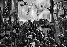 40k - Eldar Craftworld at war by ~arhicks on deviantART