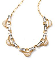 FOREVER Selected by Paula Abdul Hollywood Glamour Faceted Collar Necklace