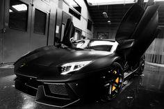 Best Wallpaper Lamborghini Aventador Matte Black 2016 - http://www.youthsportfoto.com/best-wallpaper-lamborghini-aventador-matte-black-2016/